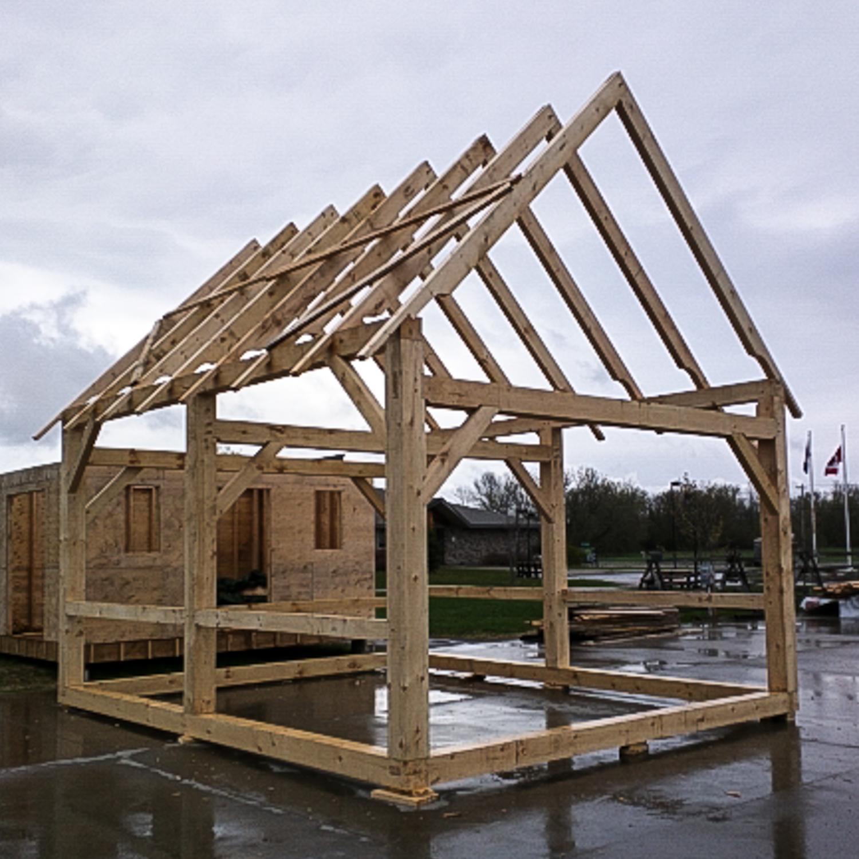 Timber Framing – The Cordwood Studio